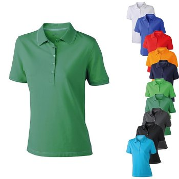 James+Nicholson Ladies` Elastic Polo
