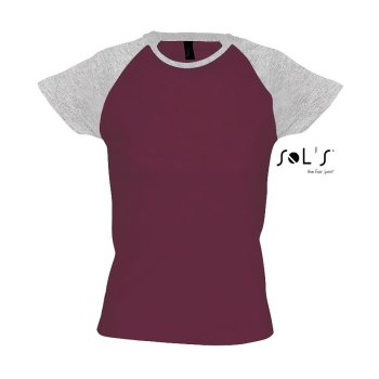 SOL´S Women`s Raglan Colour-T Milky