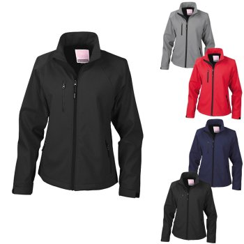 Result Women`s Base Layer Soft Shell Jacket