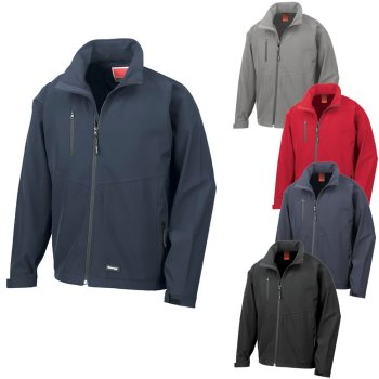 Result Men`s Base Layer Soft Shell Jacket