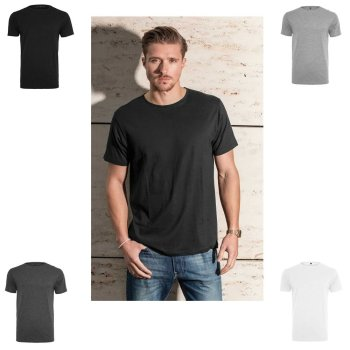 Build Your Brand Light T-Shirt Round Neck