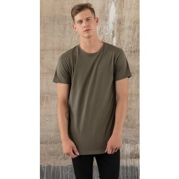 Build Your Brand Shaped Long Tee