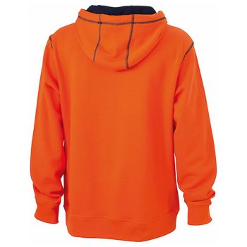 James+Nicholson Men`s Lifestyle Hoody