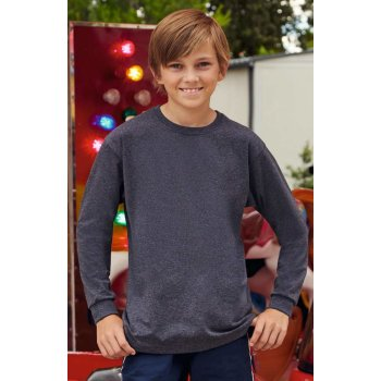 Fruit of the Loom Kids Valueweight Long Sleeve T