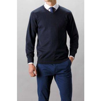 Kustom Kit Classic Fit Arundel V-Neck Sweater