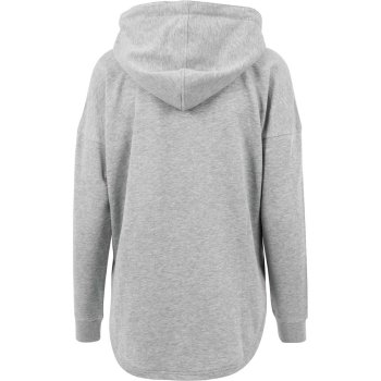 Build Your Brand Ladies` Oversized Hoody