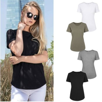 Build Your Brand Ladies` Fit Tee