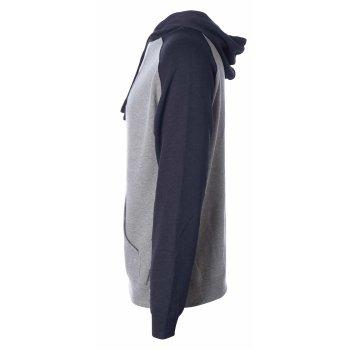 Independent Men`s Lightweight Raglan Hooded Pullover