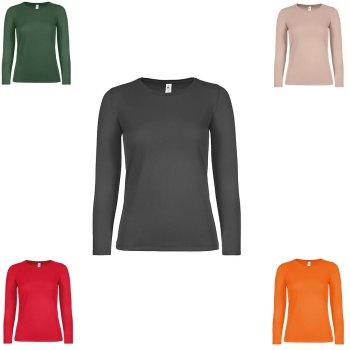 B&C T-Shirt #E150 Long Sleeve / Women