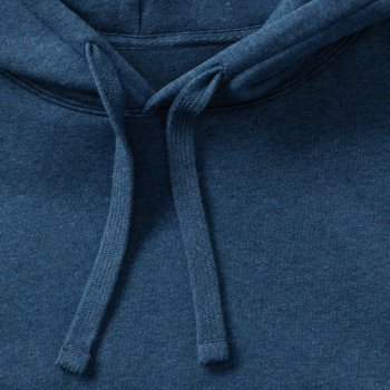 Russell  Men`s Authentic Melange Hooded Sweat