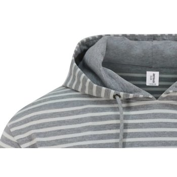 Just Hoods Nautical Stripe Hoodie