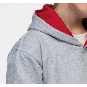Just Hoods Kids` Varsity Hoodie