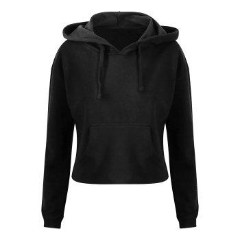 Just Hoods Women´s Cropped Hoodie