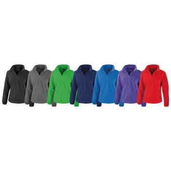 Result Core Womens Fashion Fit Outdoor Fleece Jacket