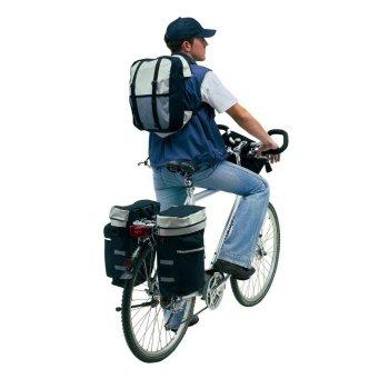Fahrradtasche Packtaschenset Bike 3-teilig mit Regenüberzug