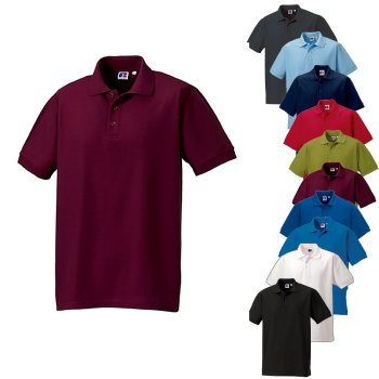 Russell  Men`s Ultimate Cotton Polo