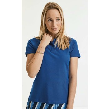 Russell  Ladies` Ultimate Cotton Polo