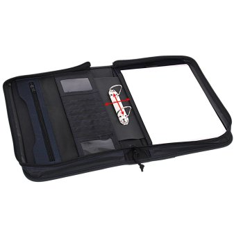 Ringmappe Avanti, im DIN-A4-Format, schwarz/blau