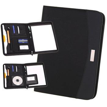 Portfolio Creado mit Reißverschluss, DIN A4 mit Block