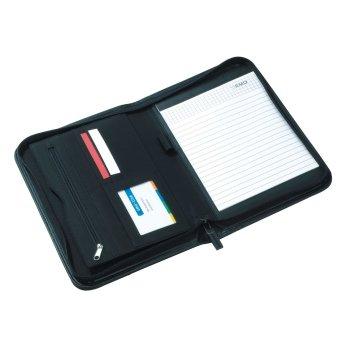 Portfolio Creado mit Reißverschluss, DIN A5 mit Block